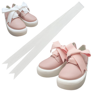 TOKYO BOPPER No.875 /  Pink smooth ribbon shoes