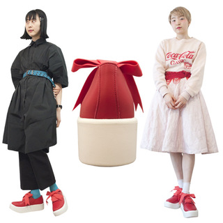 TOKYO BOPPER No.875 /  Red smooth ribbon shoes