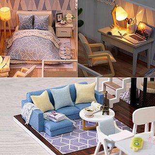 Maisonette Homemade Kit Set Mini Furniture Craft Gutmai