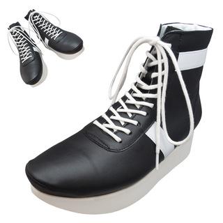 TOKYO BOPPER No.505 / Black/White Boxing shoes