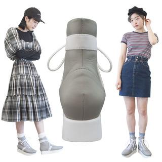 TOKYO BOPPER No.505 / Gray/White Boxing shoes