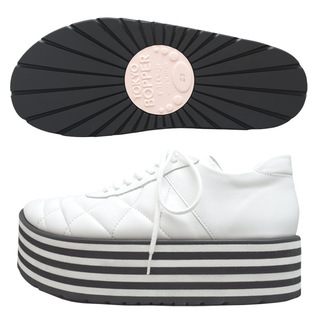 TOKYO BOPPER No.331 / White-smooth leather