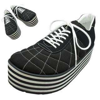 TOKYO BOPPER No.331 / Black-R - Black&white sole