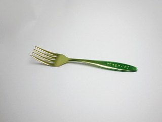 Titanium Baby Fork  (Gradation Pink)