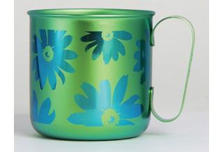 Titanium Mug Cup - Bloom  (Green)