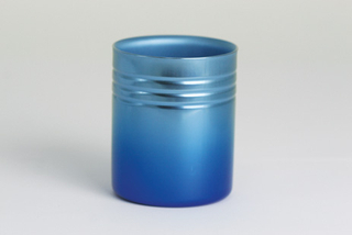 Double-Walled Titanium Mug Cup - Small  (Gradation Blue)