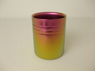 Double-Walled Titanium Mug Cup - Medium  (Pink Gold)