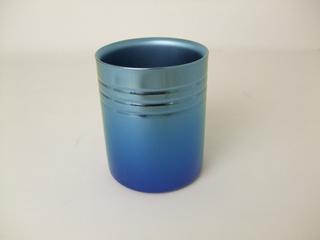 Double-Walled Titanium Mug Cup - Medium  (Gradation Blue)