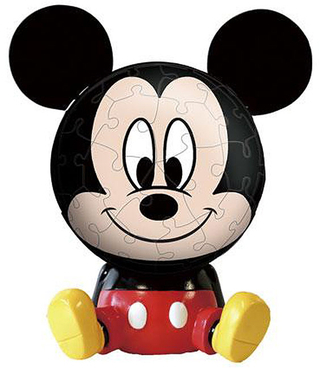 Disney - Big face Mini - Mickey Mouse 3D Jigsaw Puzzle