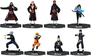 NARUTO: Shippuden - The Quietly Approaching Threat Mini Shokugan Figures (10 Random)