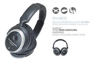 Audio-Technica ATH-ANC7b Active Noise-Canceling Headphones
