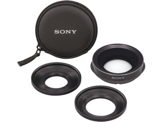Sony - VCL-HGE07A Wide Angle Camcorder Lens