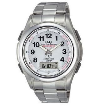 Citizen Q&Q - Solar  Watch MCS4-301 (White)