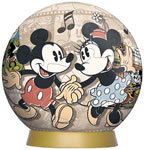 60 Piece Mickey Mouse 3D Puzzle