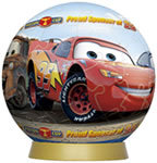60 Piece Lighting McQueen and Friends Puzzle
