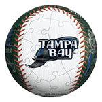 3D MLB Devil Rays Jigsaw 60P