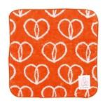 MOTTAINAI Bamboo Fiber Towel (Heart) D08029