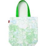 MOTTAINAI THANKS TOTE BAG: Yorifuji Bunpei Design L07006