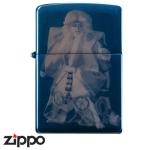 Zippo - Kabuki - Blue Titanium KL8
