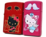 Zippo - Hello Kitty Pair Zippo - Crown