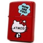Zippo - Hello Kitty x Atmos Collaboration Model - Red