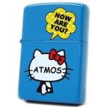 Zippo - Hello Kitty x Atmos Collaboration Model - Blue
