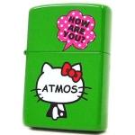 Zippo - Hello Kitty x Atmos Collaboration Model - Green