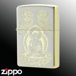 Zippo - Gautama Siddhaartha - Silver Gold