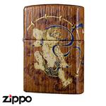 Zippo - Teak Thunder God Zippo