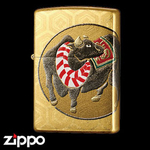 Zippo - Real Gold Plated Year of the Cow Zippo