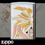 Zippo - Hand-Guilded Retro Phoenix