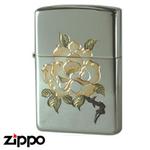 Sterling Silver Zippo - Rose Zippo