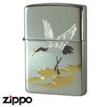 Sterling Silver Zippo - Crane Zippo