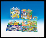 Pokemon Diamond and Pearl  - Puzzle Set of Four Jigsaw Puzzle