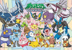 Pokemon Diamond and Pearl  - Happy Pokemon Jigsaw Puzzle