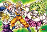 Dragon Ball Z - Legendary Sayans Jigsaw Puzzle