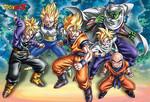 Dragon Ball Z - Warriors Jigsaw Puzzle