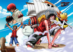 One Piece - The Next Pirate King Jigsaw Puzzle