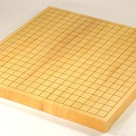 Size 10 Japanese Shikoku Kaya Table Go Board (Unique)