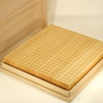 Paulownia Case for Table Go Board