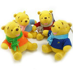 Winnie-the-Pooh - Pooh in Sweaters Plush Set of 4