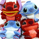 Stitch and Leroy Ball&Chain Mascot - Plush Set of 4
