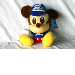 Stylish Disney Character Plush - With Shirt & Cap Mickey