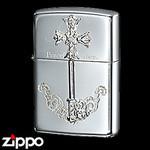 Sterling Silver Zippo - Victorian Key  (III)