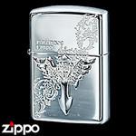 Sterling Silver Zippo - Paladin's Cross  (II)