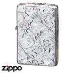 Sterling Silver Zippo - Foliage  (155HC3)