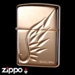 Engraved Armor Zippo - Legend  (Pink Gold)