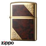 Engraved Zippo - Venetian  (Gold)