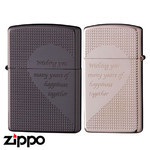 Pair Zippo - Gun Pink