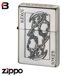 Skull Zippo - Bottoms Up Joker